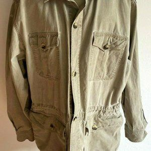 Vintage 1980 Banana Republic Safari Cargo Jacket